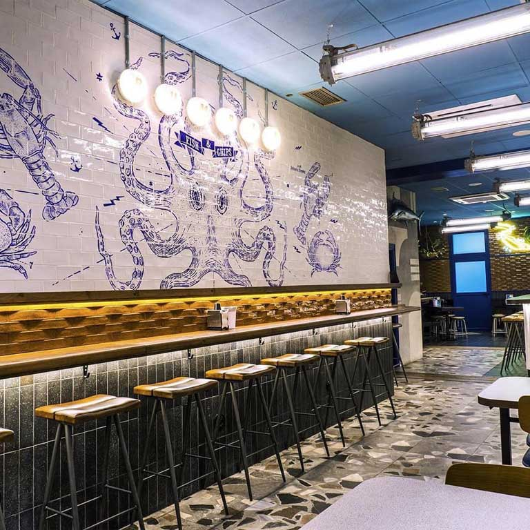 licencia apertura local Gijón Rumble Fish & Chips