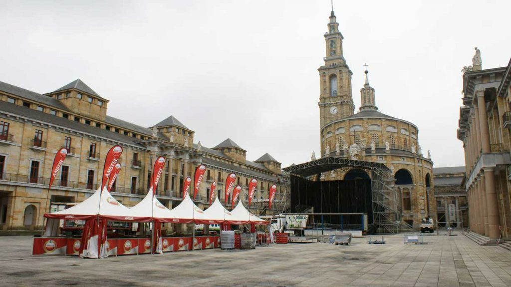 señalización conciertos Gijón